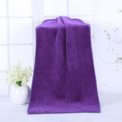 Wholesale super fiber dry hair towel 30x70 nanometer super fine fiber car washing towel group purcha purple 30 * 70