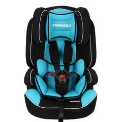 新款 三点式安全带固定儿童汽车安全座椅 厂家批发可定制一件代发 活泼红