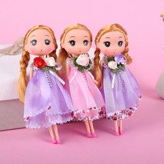 厂家直销搪胶玩偶18cm卡通迷糊娃娃儿童玩具挂件批发创意礼品 迷糊娃娃款式混款 18cm