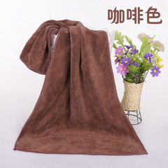 Baoyou ultra - fine fiber towel beauty salon hair  brown 30 * 70