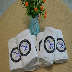 超细纤维毛巾定做毛巾定制logo礼品毛巾广告巾公司宣传热转印毛巾 白 35*75