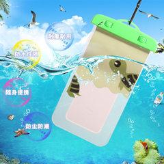 大号透明手机可触屏防水袋 可爱卡通夏季户外漂流游泳密封防水袋 B-32 均码