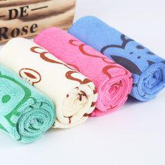 Pure cotton towel manufacturer wholesale absorbent blue 25 * 50 cm