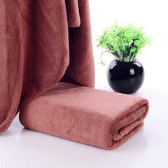 300 square meters of super fine fiber 30*70 towel  brown 30*70cm (bunk)