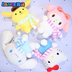 20CM围巾四款玉桂狗公仔机新款精品抓机娃娃创意毛绒玩具动漫礼物 20cm