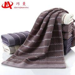 Pure cotton towel manufacturer wholesales the gift Color random 35 * 75