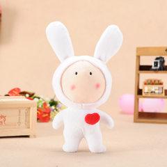 厂家直销批发玩具创意抓机娃娃 毛绒玩具玩偶送女生礼物小公仔 款式随机 20cm
