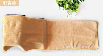 超细纤维毛巾加厚35*75 现货纯色礼品擦脸巾    吸水毛巾订做厂家 淡黄色 35*75cm