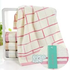 Manufacturer direct selling pure cotton towel adve pink 34 * 74