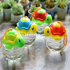 Low - priced wholesale QQ fish bottle set up toys  Turtle style fish bottle