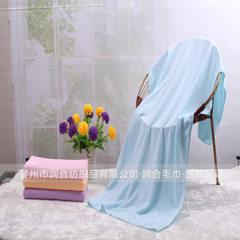 130克每平方超细纤维浴巾沙滩巾赠品礼品促销浴巾70*140柔软吸水 70*140cm
