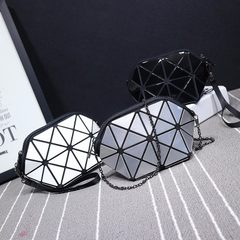 2017 new laser ringer geometric folding bag mobile