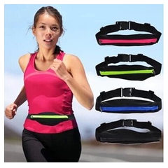 Hot style outdoor sports bag invisible Fanny pack  green