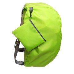 厂家直销法蒂希多功能折叠双肩包 户外旅行收纳背包书包义乌批发 玫红
