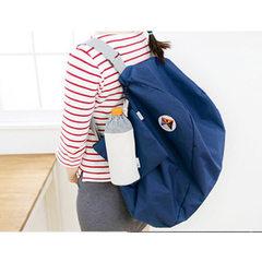 一代双肩包 多功能可折叠收纳包 户外登山双肩旅行背包 礼品定制 绿色
