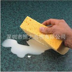 供应木浆棉厨用海绵天然环保可以降解 清洁海绵 清洁海绵块