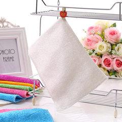 Bamboo fiber dishwashing towel Korean non-greasy d white 18 * 23 cm