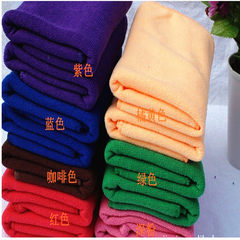 Towel super fine fiber customized logo advertising red 30 * 60
