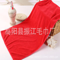 Cross-border direct selling dry hair towel 30*70 w red 30 * 70