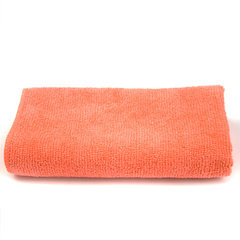 Wholesale spot direct selling super fine fiber tow orange 35 * 35 cm