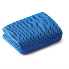 Magic two-color layer ice-cold towel anti-heat coo Deep blue 88 * 33