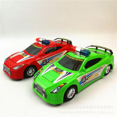 热卖新款仿真警车轿车玩具 儿童回力惯性车 五元地摊赶集夜市货源 混色
