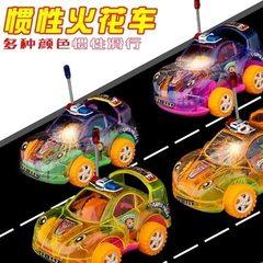 学生儿童惯性回力工程车模型Q版挖掘工程车火石车新奇特玩具批发 混装