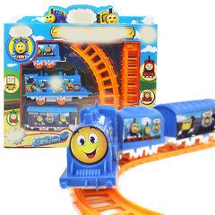T 电动轨道小火车玩具 地摊热卖热销 经典儿童玩具模型批发