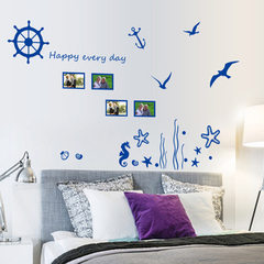 Manufacturer wholesale sales hot style wall blue o 45 * 60 cm