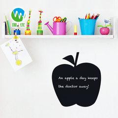 黑板贴 墙贴纸 定制 可移除儿童早教创意绘画贴纸