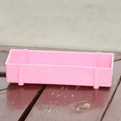Manufacturer wholesale multi - meat flowerpot plan pink Length * width * height (21.8*8.5*4.2)