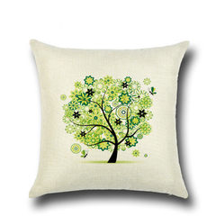 Fashionable cushion for leaning on rural small fre 01 a 45 * 45 cm