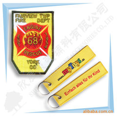 Manufacturer direct selling embroidery key ring em 13 * 3