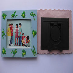 Customized hanging square photo frame advertising  Can be customized
