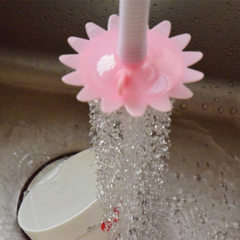 Cute little sunflower sprinkler head household kit The total length is about 12CM