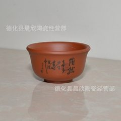 Cartoon multi - meat plant flowerpot mini small pu Tao ran, a hole See the details