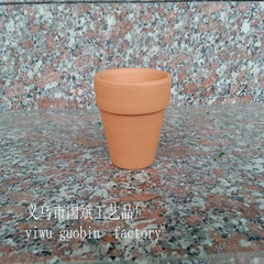 [HOT] red pottery international cup flower pot cer The picture Caliber 7cm high 6cm
