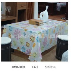 PVC tablecloth, PVC tablecloth, VINYL tablecloth,  137 x274cm