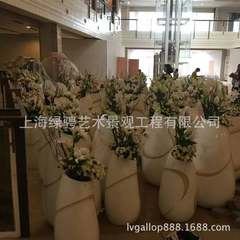 Customized anti-corrosion wooden flowerpot high qu yellow 500 * 500 * 500