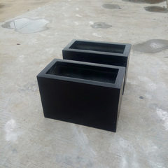 Outdoor anti-corrosion glass fiber flowerpot spot  60 * 30 * 40 cm