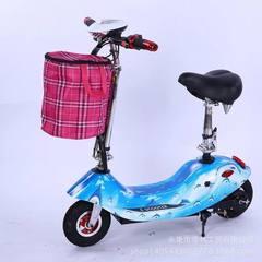 厂家批发新款小海豚电动车成人折叠滑板车代驾车迷你折叠代步车