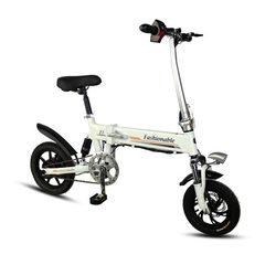 亿通迷你便携折叠电动车成人锂电池电动自行车助力电瓶车厂家直销