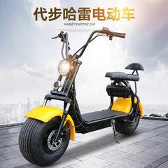 厂家直销哈雷电动车双轮电动车电动摩托车  电动哈雷车 自行车