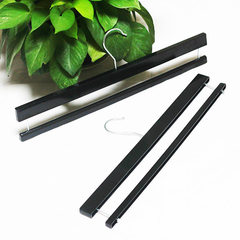 Manufacturer direct selling plastic blanket rack c black 40.5 * 1.2 cm