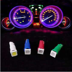 Direct selling automobile LED instrument lamp T5 h The white light