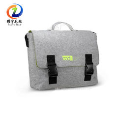 Bag cover felt bag - hand felt briefcase with slop