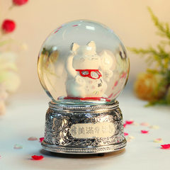 Factory direct selling cat toys 120mm silver happy silver 11.5 * 17.5 cm