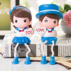 Creative cartoon set pieces of resin can not break Please place the order in multiples of 2 12.5 cm high