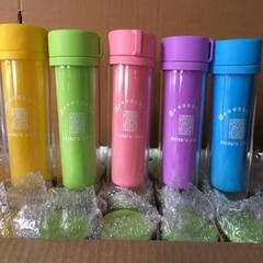 Exquisite double layer cup, double layer heat insu Orange, red, yellow, blue, green, purple 301-400 ml