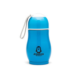 Stainless steel thermos cup penguin cup portable w Penguin cup blue 300 ml